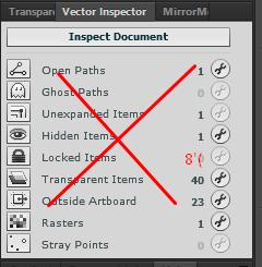 Vector Inspector не работает в Adobe Illustrator